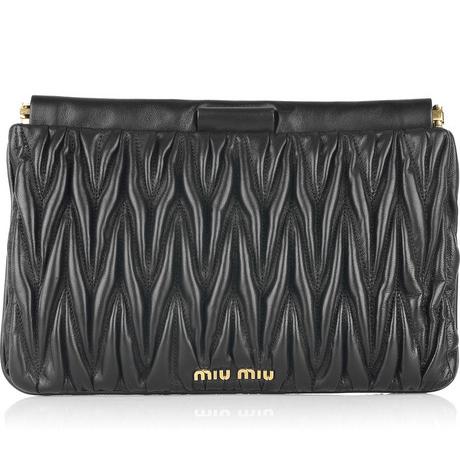 50c126a9e806 Sale  Matelasse Miu Miu Clutch