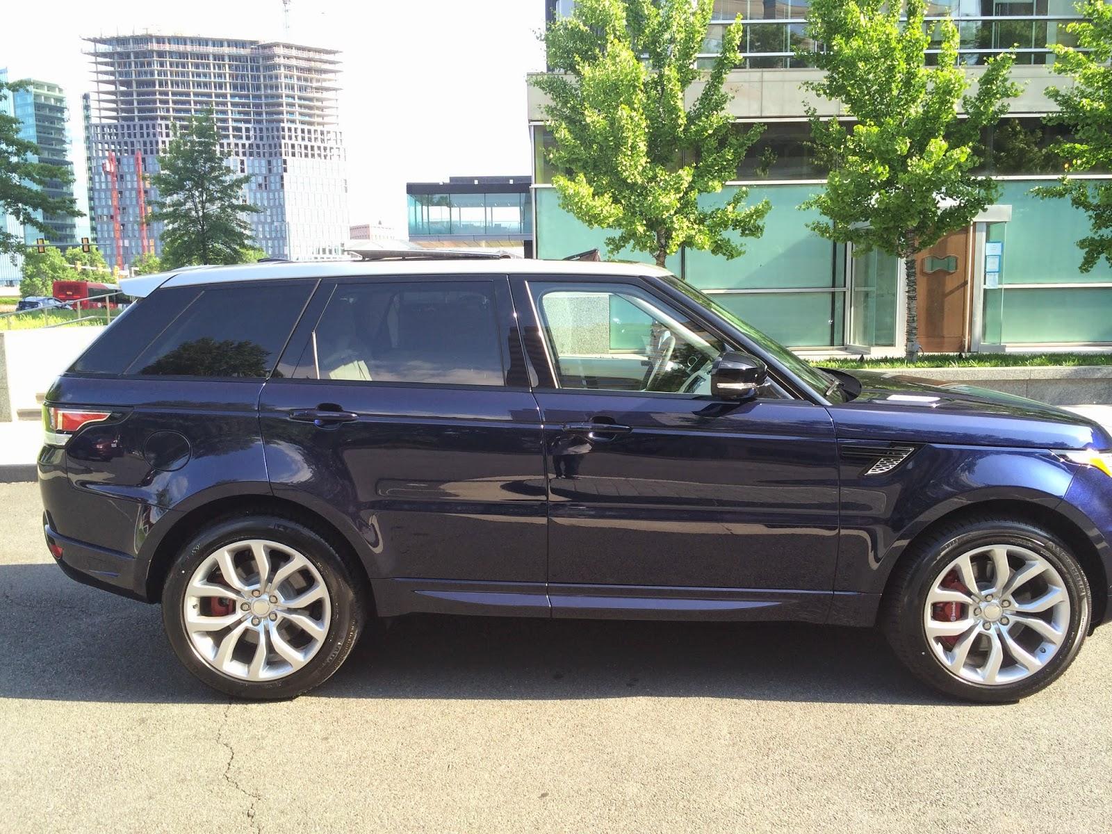 Advance Car Rental Blog 2014 Custom Range Rover Sport Autobiography