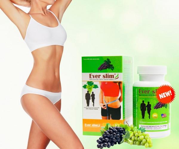 Ever Slim giúp giảm cân nhanh gấp 3 lần so với các sản phẩm thông thường