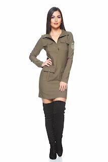 rochie-camasa de inspiratie army1
