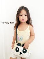 Crochet Panda Bag