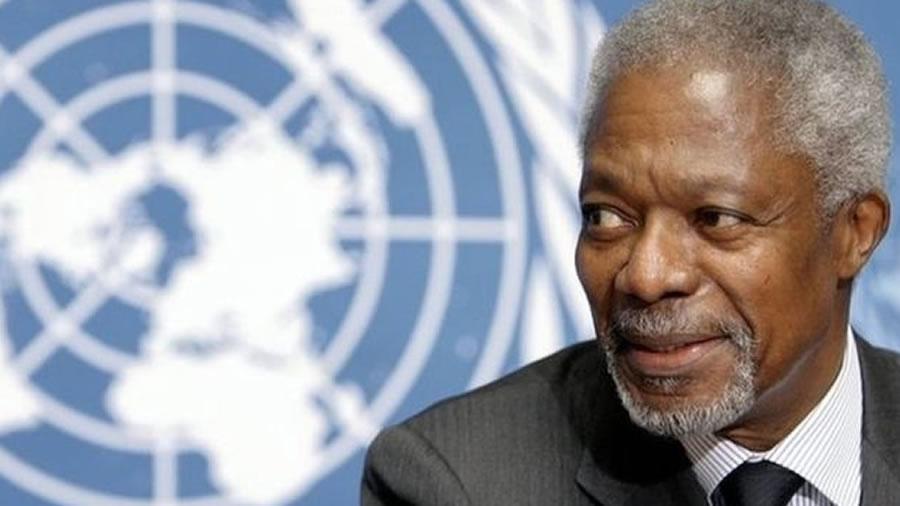Ex-secretário geral da ONU - Kofi Annan