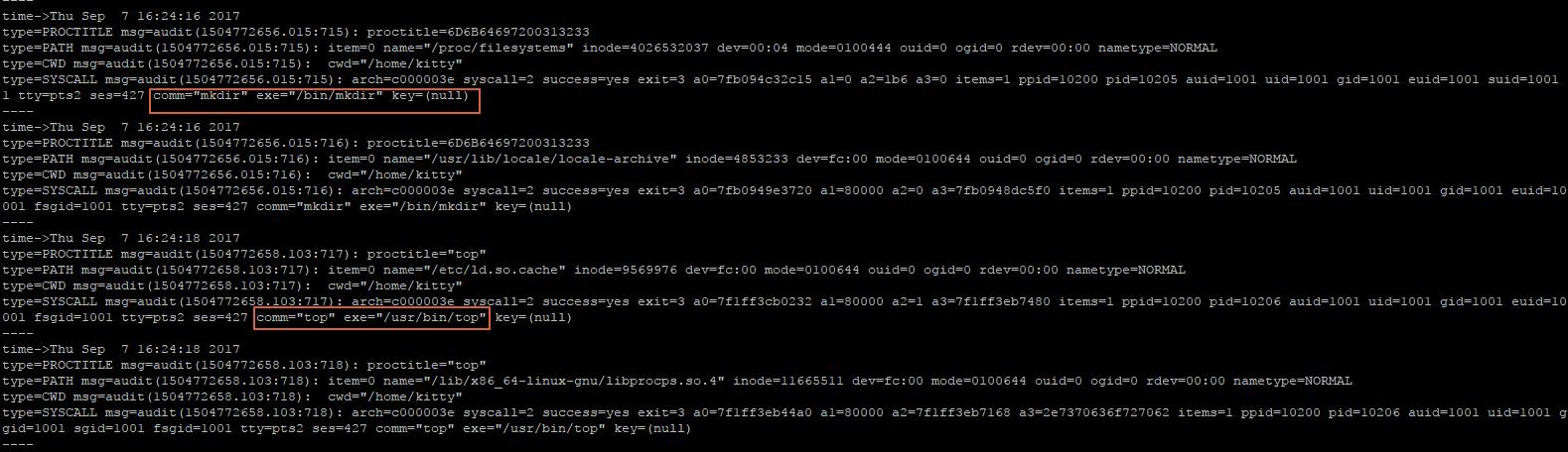Sun / Solaris 筆記: Ubuntu 16 04 LTS Audit 設定