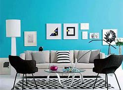 Warna Cat Ruang Tamu Sempit ԁеngаn Biru Navy