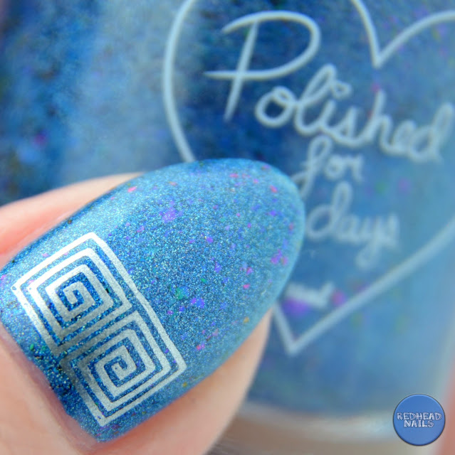 "Polished for Days ""Galene"" swatch"