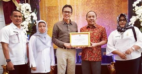 Sumbar Raih Penghargaan Komisi Irigasi Tingkat Nasional 2017