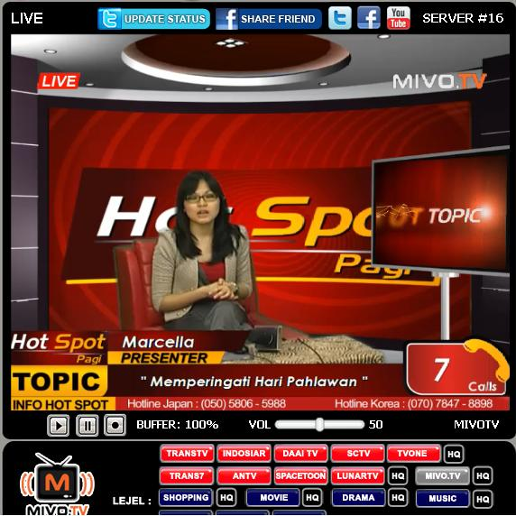 Live Streaming Sctv: TV ONLINE INDONESIA