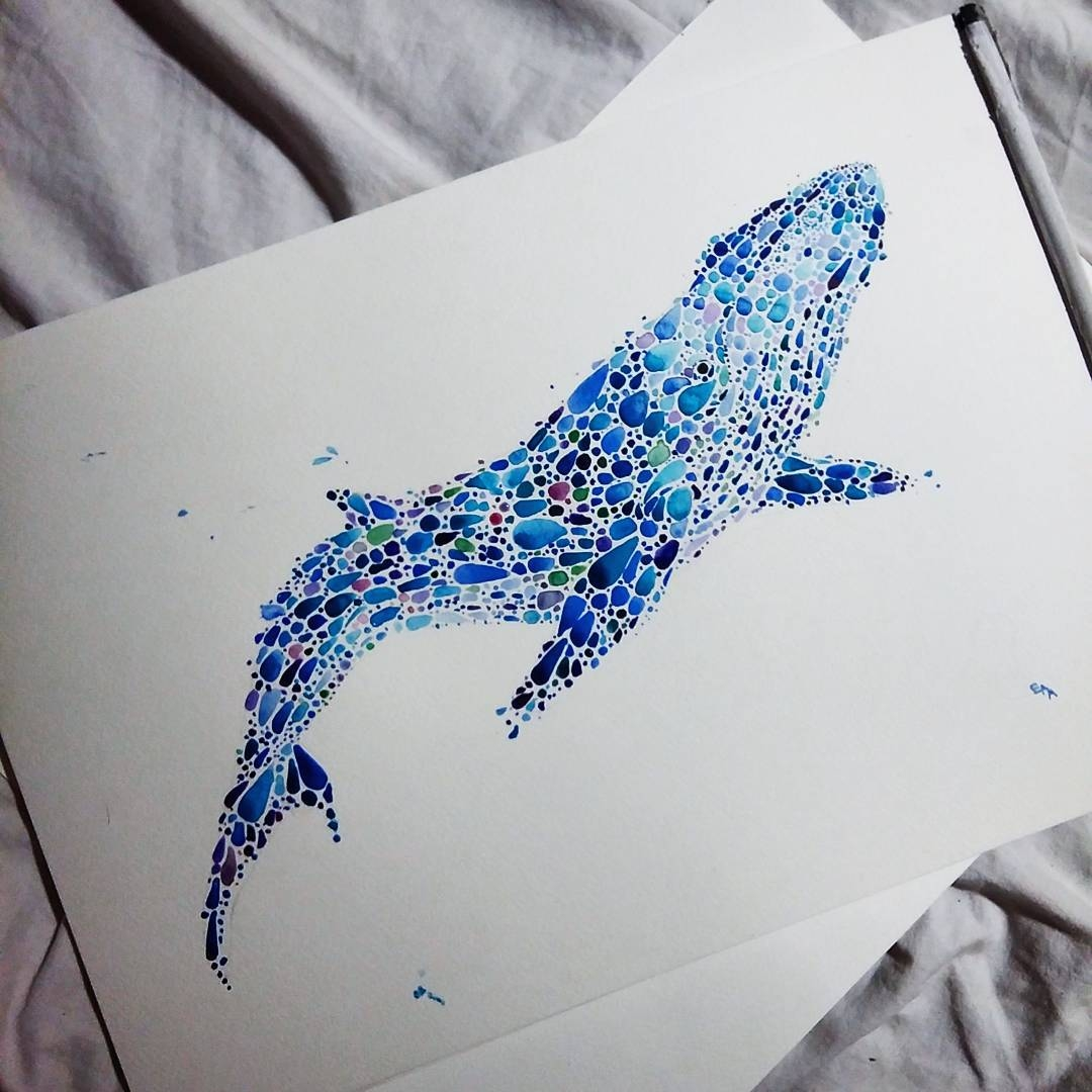 25-Whale-Ana-Enshina-anaensh-Dot-and-Circle-Animal-Paintings-Ishihara-Test-www-designstack-co