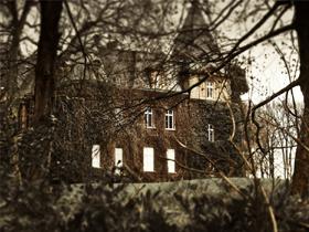 幽霊屋敷…?