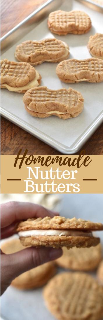Homemade Nutter Butters  #dessert