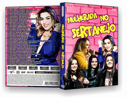 CAPA DVD – Mulherada No Sertanejo DVD-R