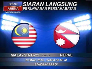 live streaming malaysia vs nepal 27 mac 2016