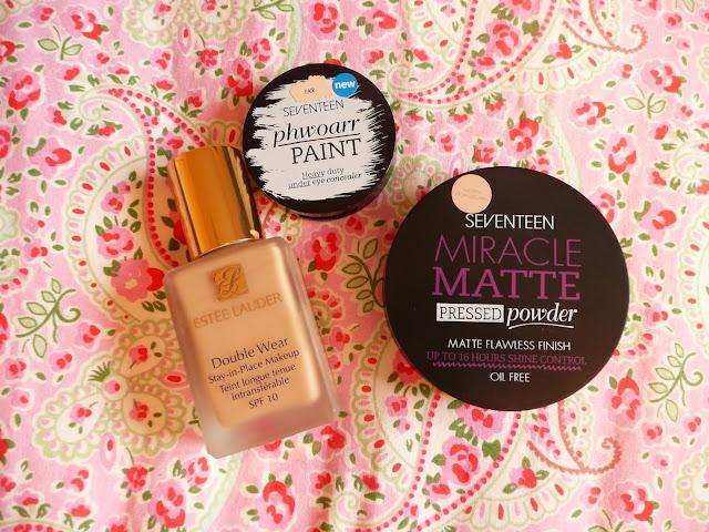 Top base products 2013 foundation concealer powder seventeed estee lauder