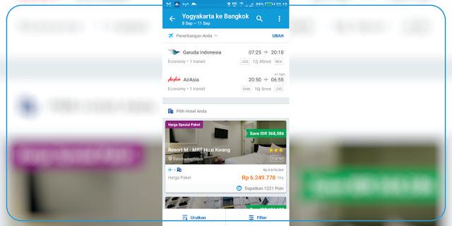 Kombinasi Sesuka Hati Tiket Pesawat dan Booking Hotel | adipraa.com