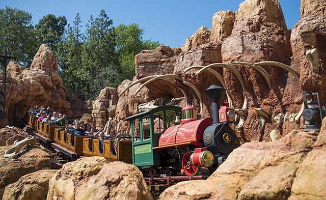 Big Thunder Mountain Raillroad