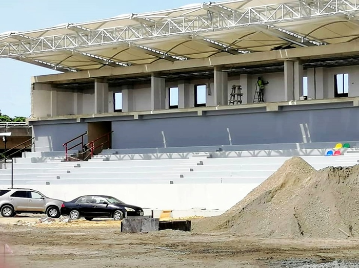 See The New Look Of  The Reconstruction And Upgrade of the Onikan Stadium - Photos