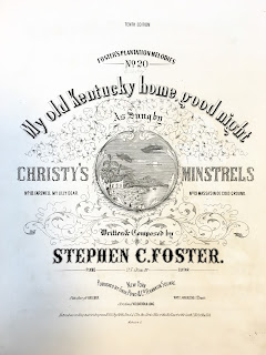 Title page of Old Kentucky Home