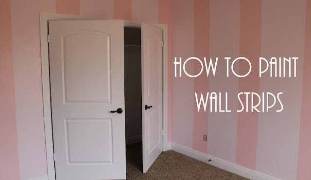 How To Paint Wall Strips Mommy S Little Sunshine