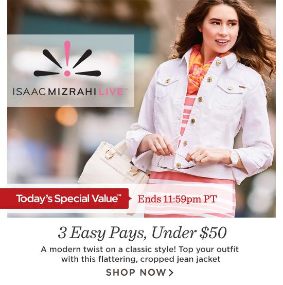 14th Isaac Mizrahi True Denim Jean Jacket 49 98 Available In  Colors
