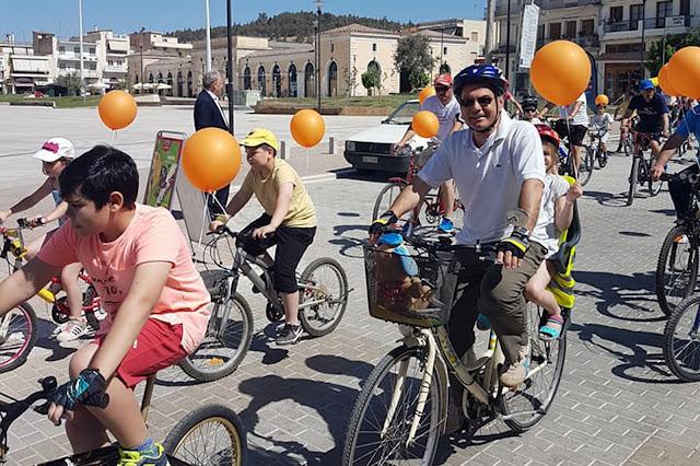 Με εκατοντάδες συμμετοχές η 10η Ποδηλατοπορεία στο Άργος