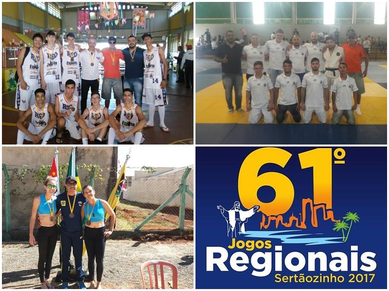 Guaíra SP conquista 11 Medalhas nos Jogos Regionais Sertãozinho