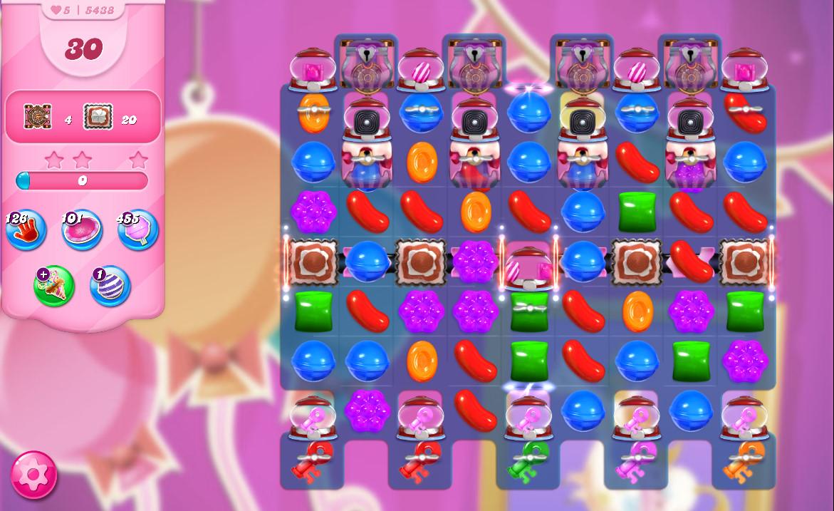 Candy Crush Saga level 5438
