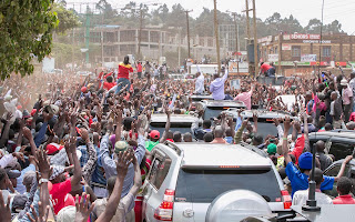 Urged residents of Limuru and Lari to shun hatred and division and reject leaders who want to divide the country along tribal lines PHOTO | Courtesy PSCU