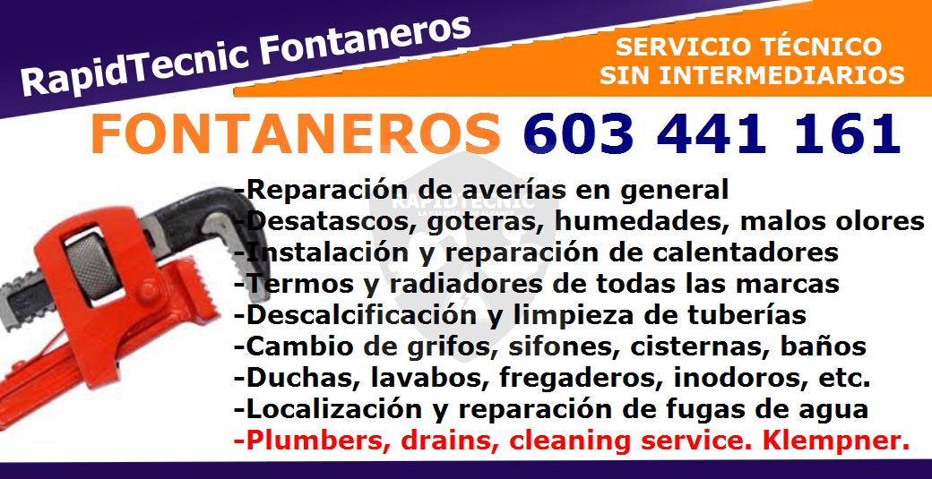 Rapidtecnic Alicante Fontaneros Urb Torreta Iii Patricias