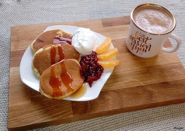 Pancakes- amerykańskie śniadanie