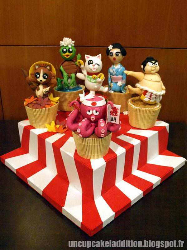 Expo Tarta 2013 :  Cupcakes Japonais.