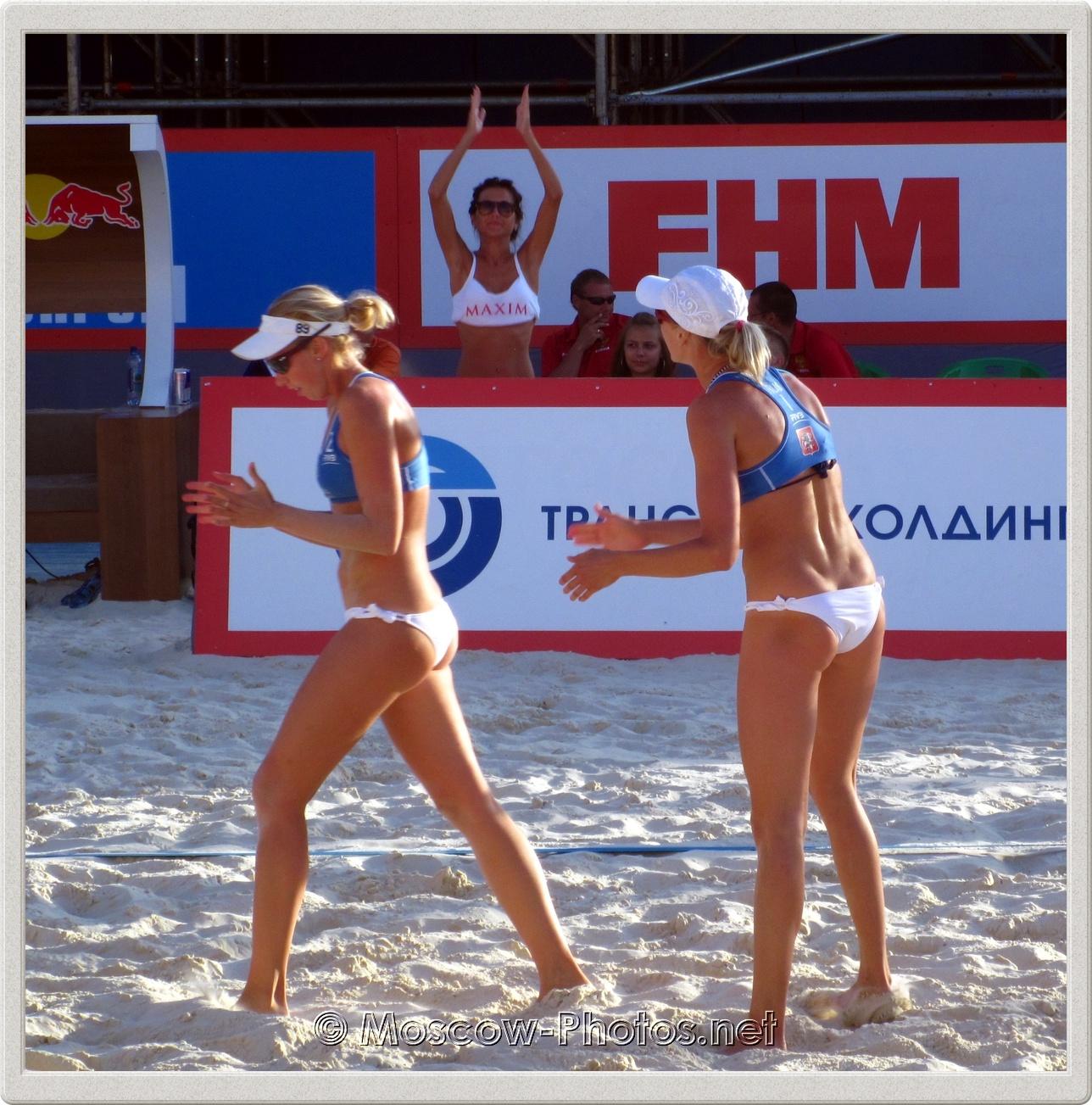 Evgenia Ukolova & Ekaterina Birlova (Khomyakova)
