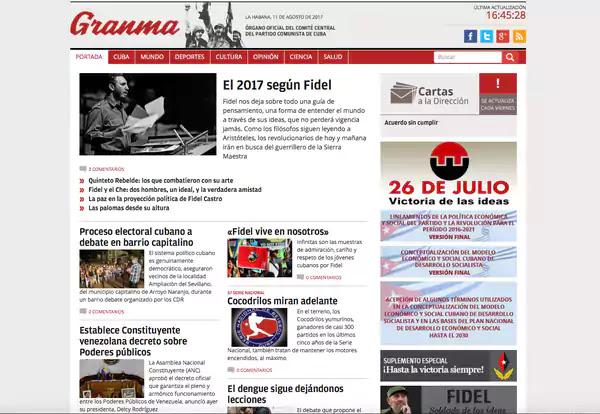 """Los informes de la agencia Telesur y de la Agencia Venezolana de Noticias son las fuentes de noticias que se emplean en los medios cubanos. """"Esto es muy peligroso para la libertad de información"""", afirma Emmanuel Colombié, director regional para América Latina de Reporteros Sin Fronteras.  Lo mismo, explicó, que sucede en Venezuela. """"Para minimizar la importancia de la crisis, la influencia de la oposición, y para ocultar los actos de violencia durante las manifestaciones"""", el gobierno de Maduro intenta """"censurar todos los medios de comunicación que hacen una cobertura negativa de la situación y apoyan a la oposición. Al final del día, los venezolanos con acceso básico a los medios de comunicación no saben realmente lo que está sucediendo"""", añade Colombié.  Cuba está en el final de la lista sobre libertad de prensa que confeccionan Freedom House y Reporteros Sin Fronteras, fundamentalmente por la represión al periodismo independiente que intenta llenar los vacíos informativos."""