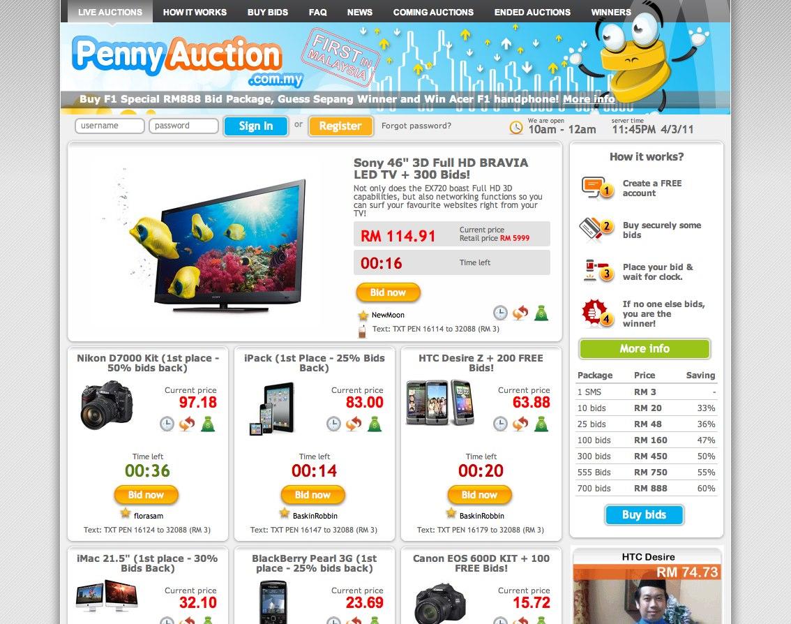 free online auction site free auctions website auto design tech. Black Bedroom Furniture Sets. Home Design Ideas