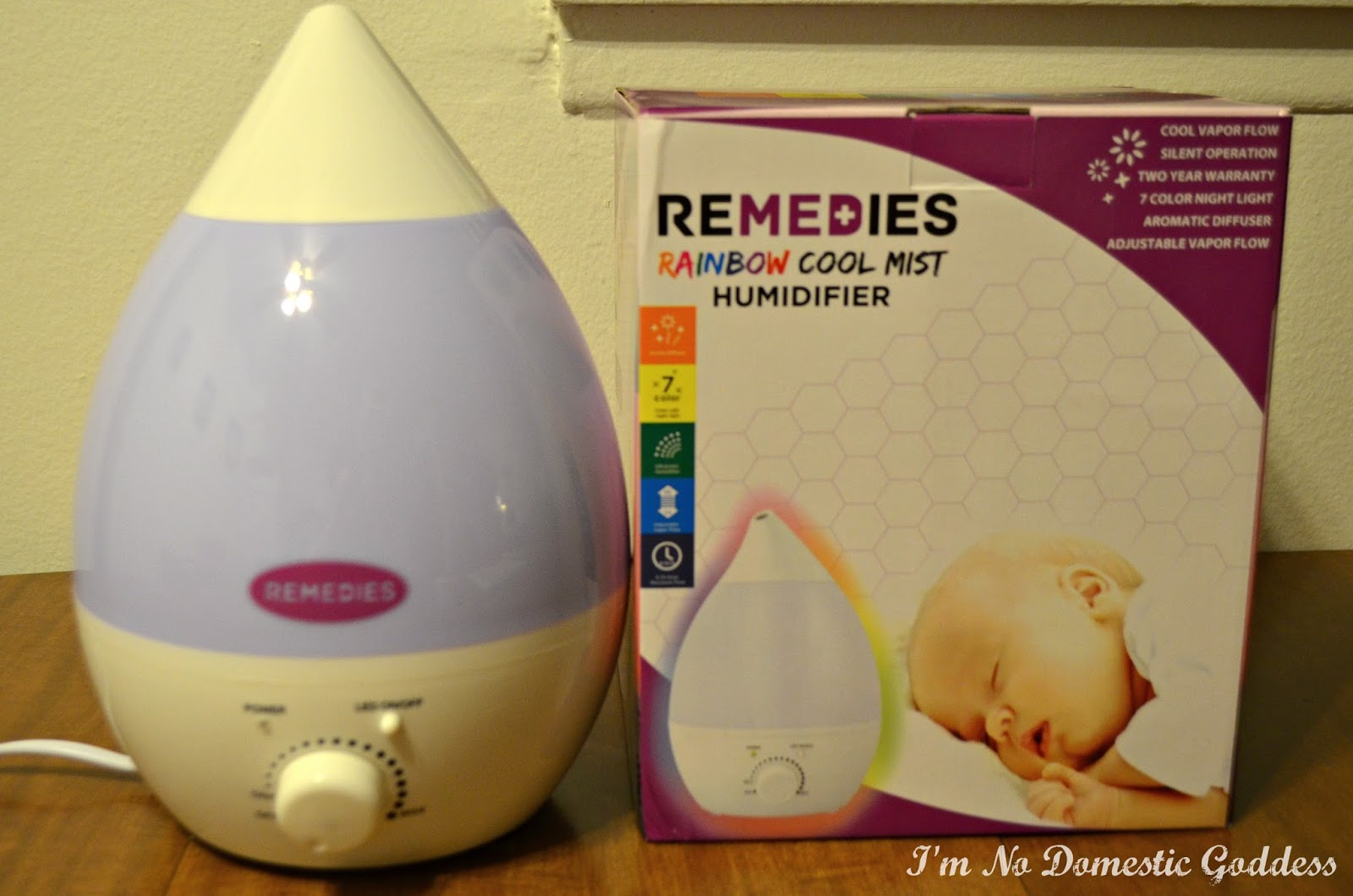 Remedies Rainbow Cool Mist Humidifier Review & Giveaway ~ I'm No  #3A2411