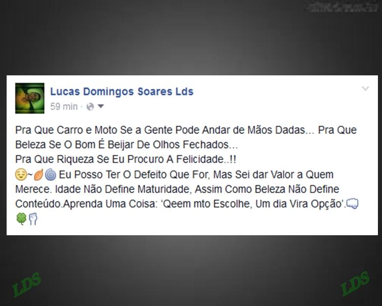 Blog Do Lucas Soares Lds Frases Status E Legendas Para Facebook