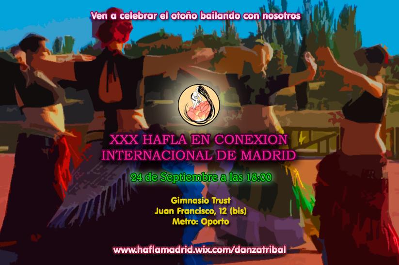XXX Hafla en Conexión Internacional de Madrid Haflaoto2016