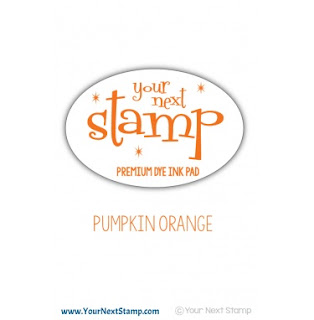 Premium Dye Ink Pad Pumpkin Orange