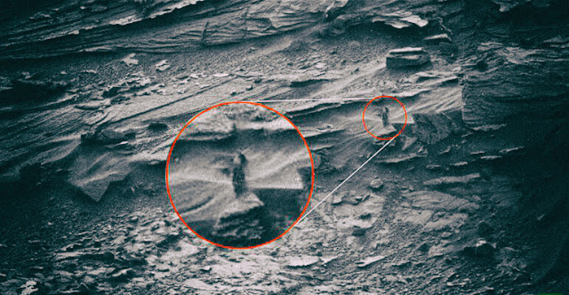 Martian Woman Spirit Surprised While Stalking The Rover Curiosity
