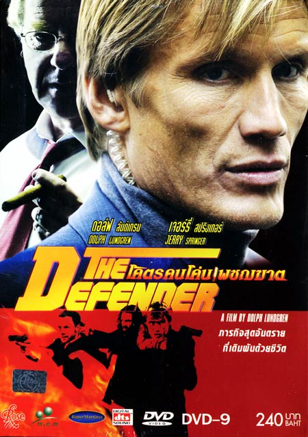 The Defender (2004) Dual Audio Hindi 300MB BluRay 480p ESubs