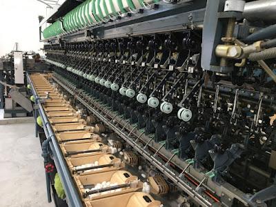 宮坂製糸所 工場内のメカ