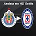 Transmision Chivas Guadalajara vs Cruz Azul en vivo