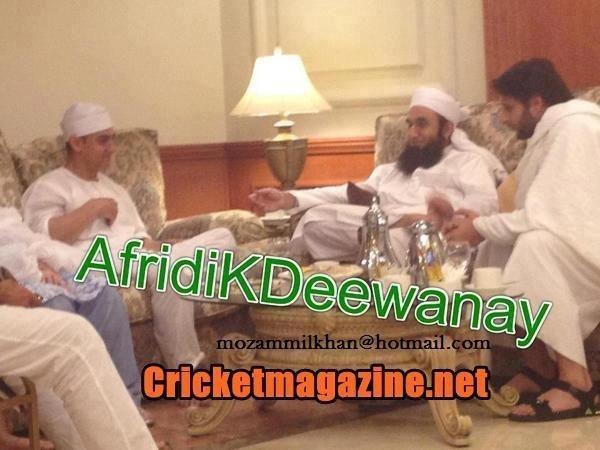 Shahid Khan Religion: Just Cricket: Aamir Khan And Shahid Afridi Meeting With