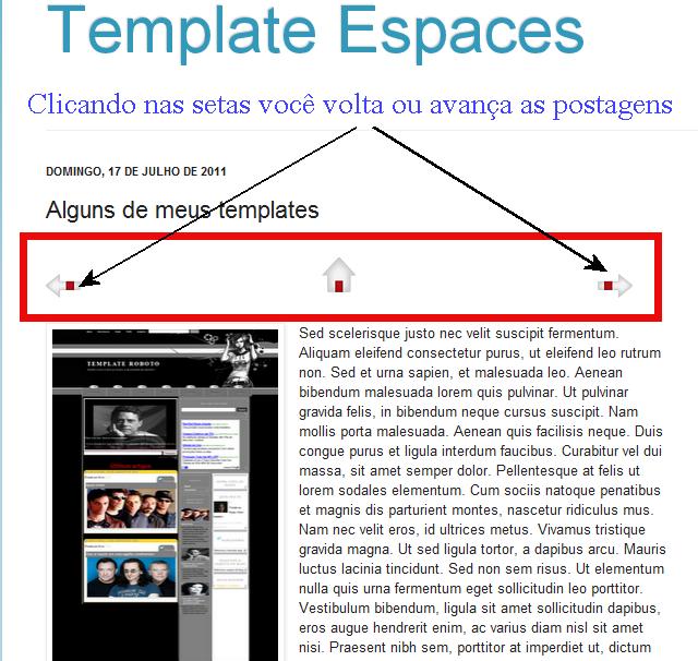 63e3d82a6c Templates e Acessórios  Colocar o link de navegação do blog dentro ...
