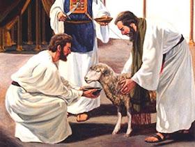 La Pascua judía y la Última Cena - Los sacrificios de la Antigua Ley 3