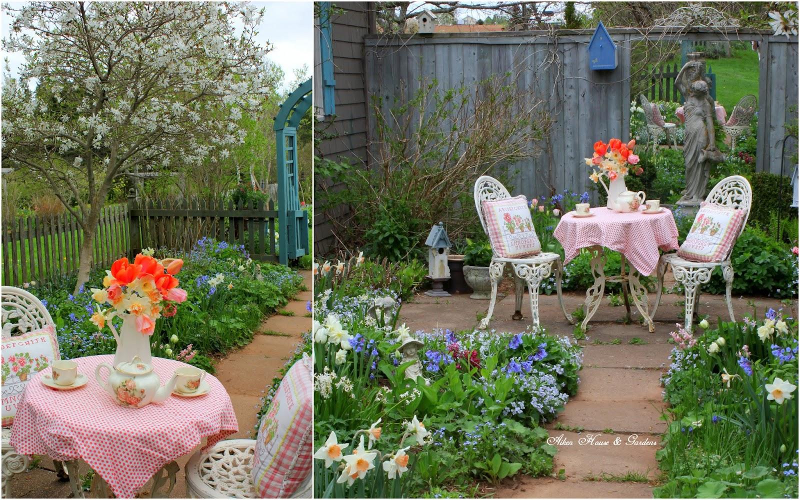 Aiken House & Gardens: Tea In Martha's Garden