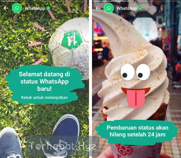 fitur terbaru whatsapp seperti snapchat