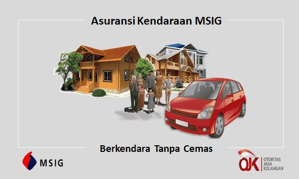 asuransi kendaraan mobil msig