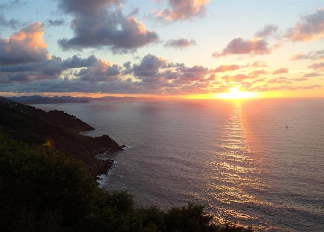 bästa plats för solnedgång i San Sebastian