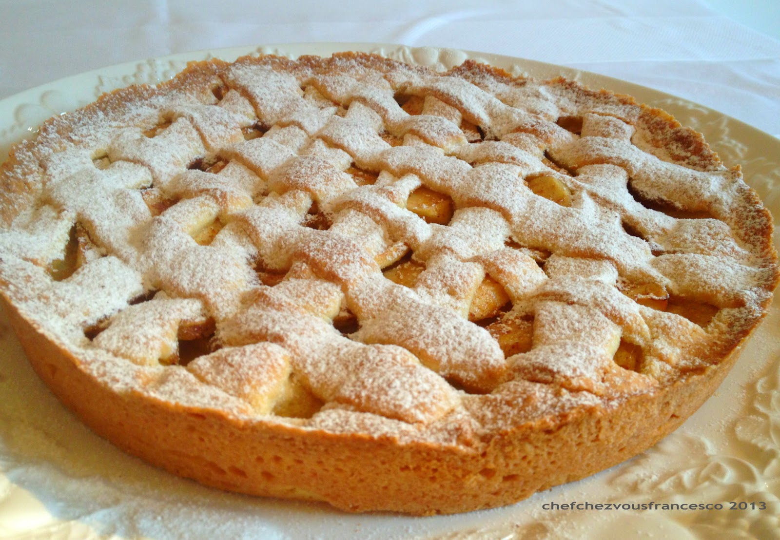 Chefchezvous la mia crostata di mele for Crostata di mele