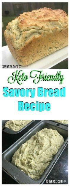 Savory Keto Bread Recipe Ingredients